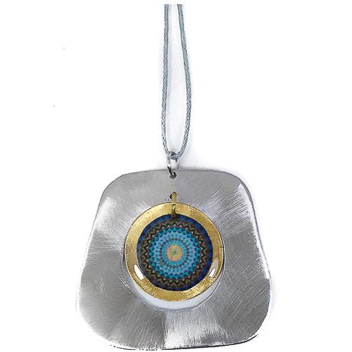 JCL002 collar mandala hecho a mano